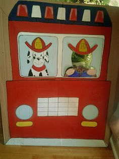 I'm loving the idea of a fire truck themed photo prop so everyone can have a picture to take home! Toddler Boy Birthday, Birthday Themes For Boys, 6th Birthday Parties, 2nd Birthday, Birthday Decorations, Paw Patrol Party, Paw Patrol Birthday, Firefighter Birthday Cakes, Fireman Birthday