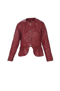 Saco de cuero - Rojo