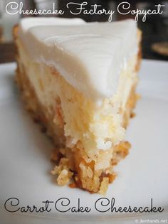 Carrot Cake Cheesecake is the ultimate flavour combination. You are going to love this easy and delicious dessert. Check out the video tutorial too.