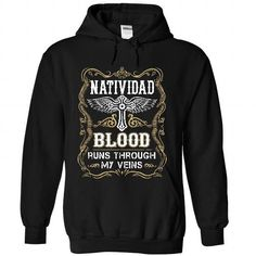 NATIVIDAD - Blood  - #gift for mom #baby gift. LIMITED TIME => https://www.sunfrog.com/Names/NATIVIDAD--Blood-8428-Black-55571278-Hoodie.html?68278