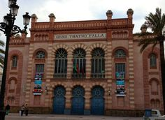 Gran Teatro Falla, #Cadiz, #Spain