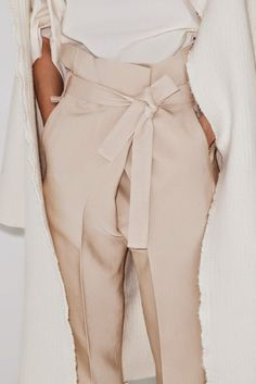 champaign high waist pants, minimal chic  // Follow @sommerswim on Pinterest for more inspo