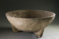 concrete vessel by Luke Mansini