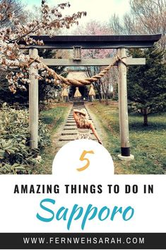 Sapporo on Hokkaido, Japan is not only beautiful in winter there is lots of things to do in Sapporo in spring summer time! Sapporo, Japan Spring, Spring Summer, Japan Travel Guide, Asia Travel, Summer Pinterest, Kyoto, Stuff To Do, Things To Do