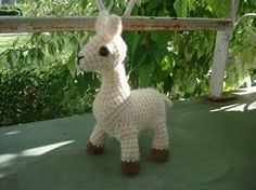 Crochet Amigurumi Llama : Ravelry: Crochet llama amigurumi pattern pattern by mohu ...