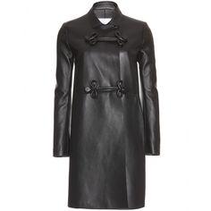 mytheresa.com - Valentino - LEATHER COAT - Luxury Fashion for Women / Designer clothing, shoes, bags