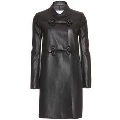 mytheresa.com - Valentino - LEATHER COAT - Luxury Fashion for Women / Designer clothing, shoes, bags