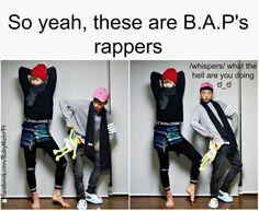 Y'all meet Junhong(Zelo) and Yongguk of BAP