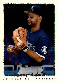 1995 Topps Traded #125T Joey Cora Seattle Mariners Baseball Card