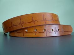 Heartthrob Leather Belt by quickdrawleather on Etsy, $39.00