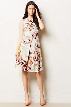 Kukka Tea Dress #anthropologie #anthrofave