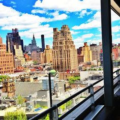 Get the real thing (view) on our #rooftop. #Meatpacking