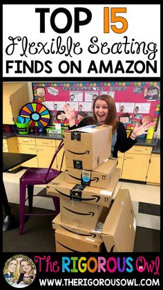 15 Flexible Seating Amazon Finds