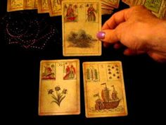 A Beginner's Activity for Learning Lenormand Card Combinations - YouTube