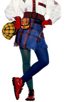 Christophe Jouany for Seventeen magazine, August (More PLAID, tartan, etc…)