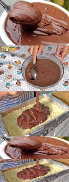 Recheio de Nutella Para Bolo #RecheiodeNutellaParaBolo #RecheiodeNutella #Receitatodahora