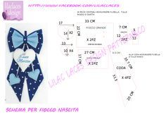 Best 11 birth ribbon pattern , no problem! cartamodello fiocco nascita , no problem Diy Projects To Try, Sewing Projects, Felt Crafts, Diy And Crafts, Felt Name, Baby Co, Baby Drawing, Felting Tutorials, Lace Design