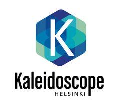 Kaleidoskope Helsinki logouudistus Helsinki, Nintendo Games, Logos, Logo