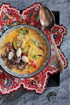 Food Design, Cheeseburger Chowder, Thai Red Curry, Chili, Tofu, Ethnic Recipes, Interior, Blog, Speech Language Therapy