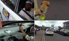 """Muslim taxi driver refuses to take disabled passenger with guide dog: """"The driver can be heard saying: 'Me, I do not take the dog. It's a choice for me. For me, it's about my religion'. Mr Bloch responds: 'By law you can't deny us…it's against the disability act of 1995,' but the driver appears adamant and refuses to take the couple."""