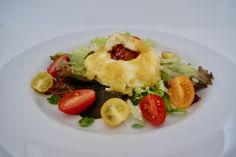 Mozzarella farcie Olives, Menu, Chicken, Breakfast, Food, Dried Tomatoes, Balsamic Vinegar, Menu Board Design, Morning Coffee