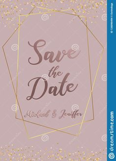 Wedding Invitation, Thank You Card, Save The Date Card with regard to Save The Date Banner Template