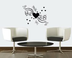 Wall Vinyl Decal Sticker Art Design Heart Love Abstract Pattern Bedroom Valentine's Day Room Nice Picture Decor Hall Wall Chu615 Thumbs up decals http://www.amazon.com/dp/B00J9Q00JM/ref=cm_sw_r_pi_dp_fM4Itb1H72FYNFN8