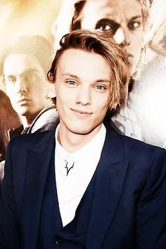 Jamie Campbell Bower at the City of Bones premiere! 8/12/13