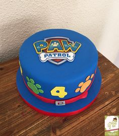 Paw Patrol Cake By Cakesbyme Twin Birthday Cakes, Paw Patrol Birthday Cake, Paw Patrol Party, 3rd Birthday Parties, 4th Birthday, Torta Paw Patrol, Batman Birthday, Cake Pictures, Cakes For Boys