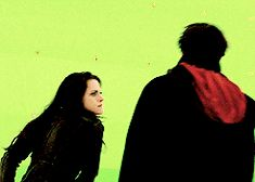 Kristen Stewart and Cameron Bright on the set of Breaking Dawn 2