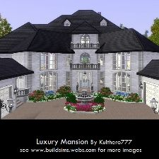 Luxury Mansion by Kulthero777 - The Exchange - Community - The Sims 3