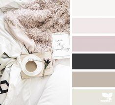Bath Room Colors Schemes Black Design Seeds 25 Ideas For 2019 Bedroom Color Schemes, Bedroom Paint Colors, Colour Schemes, Color Combos, Office Color Schemes, Design Seeds, Palettes Color, Color Pallets, My New Room