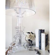 Regram @carolinereceveurlucas  This #Kartell Bourgie Lamp match perfectly in my…