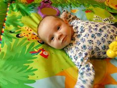 NEDC baby Annabelle at 3 months old.