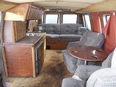 Mild Interior Of A Or Van