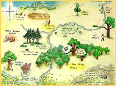 A.A. Milne's Hundred Acre Woods ...