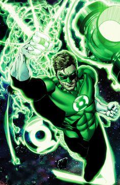 Ethan Van Sciver Green Lantern Hal Jordan