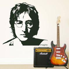 John Lennon 'Imagine' Wall Sticker