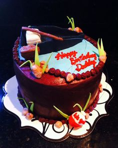 Gone fishing cake..:)