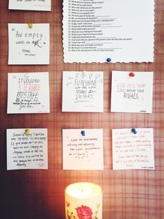 focusxstudies:  5.24 PM// Finally put up new quotes on the...