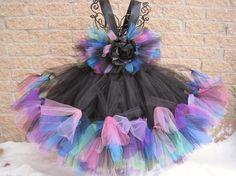 Petti Tutu Dress, AURORA BOREALIS, Toddler Girls 3-6, Gifts, Photos   ElsaSieron - Clothing on ArtFire