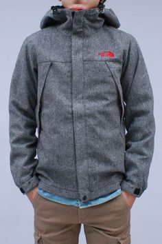 Tweed North Face! Cool!