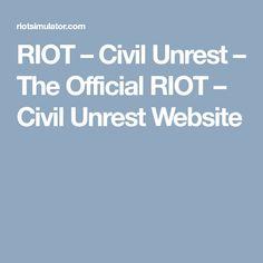 RIOT – Civil Unrest – The Official RIOT – Civil Unrest Website