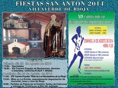 #VillaverdeDeRioja celebrará las #fiestas de San Antón durante los próximos días 23 y 24 de agosto de 2014. ♫ ♪.. #FiestasRiojanas ...♪ ♫