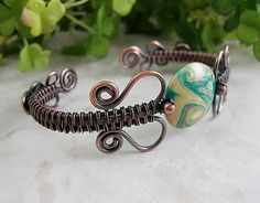 Gorgeous Free Woven Wire Tutorials from Wickwire Jewelry - The Beading Gem's Journal