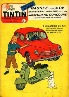 Concours Tintin - 1955