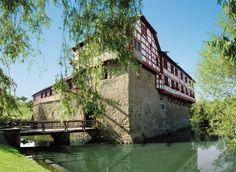 Das Wasserschloss Hagenwil gehört zu den besterhaltenen Wasserburgen der Schweiz.