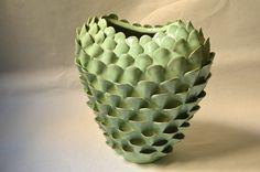 Claudia  Frignani-Ceramic vase hand made.Artemisia Collection