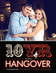how about a The Hangover themed party?