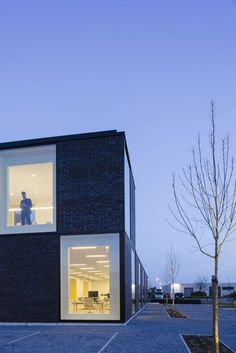 Assusoft, project door Friday Office Yellow Submarine, Antwerp, Friday, Doors, Projects, Log Projects, Blue Prints, Gate